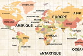 Carte du Monde à imprimer