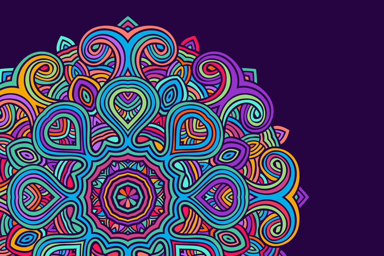 Coloriage Mandala à Imprimer Sur Hugolescargotcom