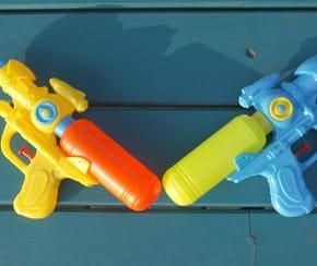 Les meilleurs pistolets à eau pour s'amuser quand il fait chaud