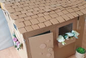 Fabriquer une cabane en carton
