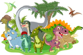 Dinosaures pour les petits