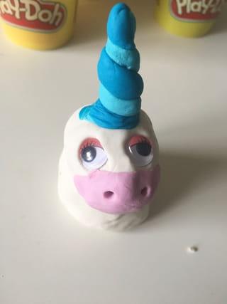 Etape 3: la corne de la licorne