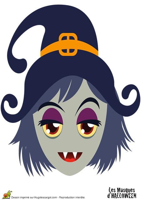 Masques pour halloween - Masque de halloween a imprimer ...