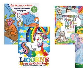 Cahiers de coloriages: une sélection pour occuper vos enfants pendant le confinement