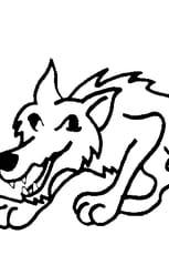 Coloriage Le Loup