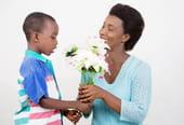 Une petite fleur pour maman