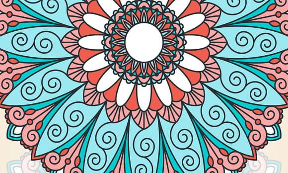 Coloriage mandalas de Maëlle