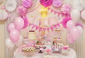 Bricolage et décoration d'anniversaire