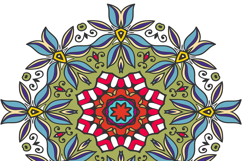 Coloriage mandalas fleurs sur - Coloriages mandalas fleurs ...