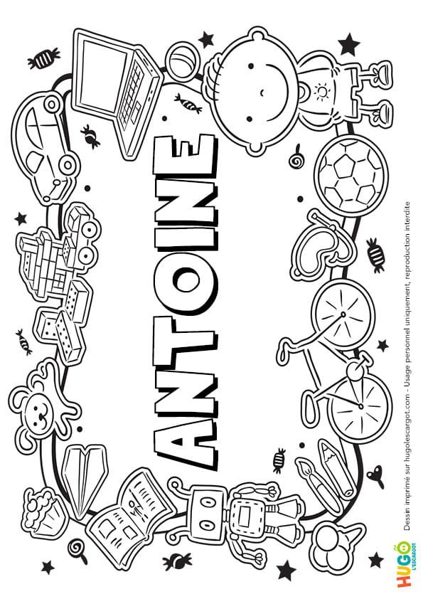 Antoine prénom de garçon version 3
