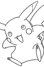 Coloriage Pokémon pikachu en Ligne Gratuit à imprimer