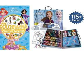 Cahier de coloriages Disney: les meilleurs pour votre enfant