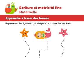 Motricité fine Maternelle, les sirènes