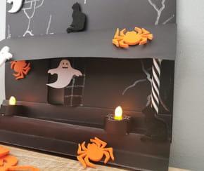 Maison hantée d'Halloween DIY