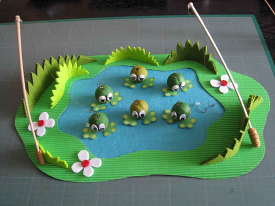 La pêche à la grenouille