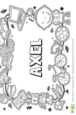 Axel prénom de garçon version3