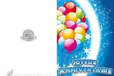 Cartes D Anniversaire Notre Selection De Cartes A Imprimer