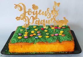 Décoration de gâteau, un topper Joyeuses Pâques [VIDEO]