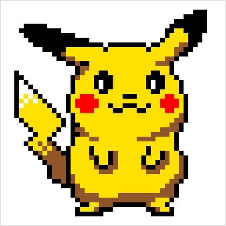 pixel-art-pikachu