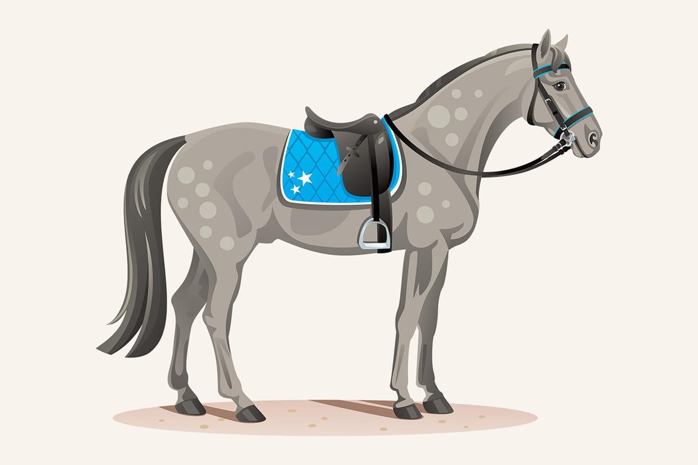 Coloriage chevaux sur - Coloriage chevaux ...