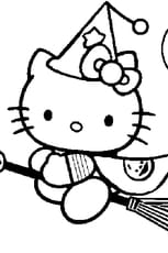 Coloriage hello kitty f e en ligne gratuit imprimer - Coloriage de hello kitty sur hugo l escargot ...