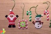 Perle à repasser Noël: 4modèles de perles à repasser pour fêter Noël