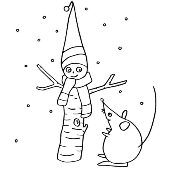 Coloriage Décoration de Noël en Ligne Gratuit à imprimer