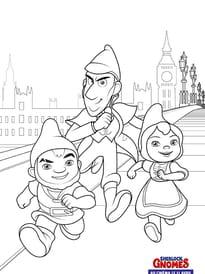 Sherlock Gnome enquête à Londres
