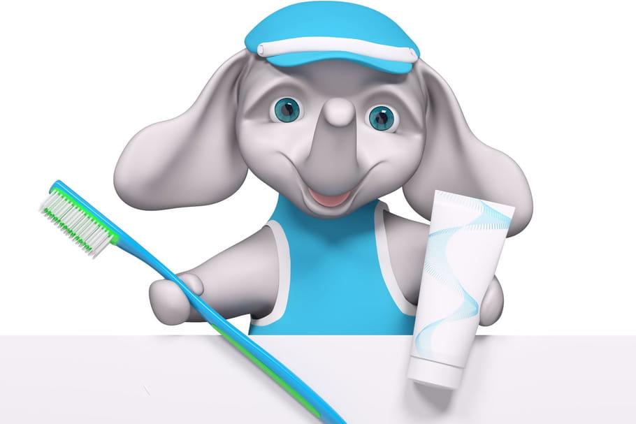 Comptine L'éléphant et la brosse à dents