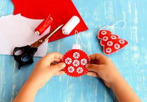 Bricolages boules de Noël