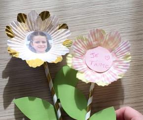 Fleur porte-photo fête des Mères [VIDEO]
