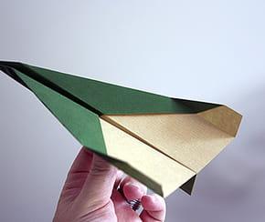 Avion facile en papier