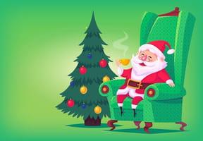 Coloriages magie de Noël