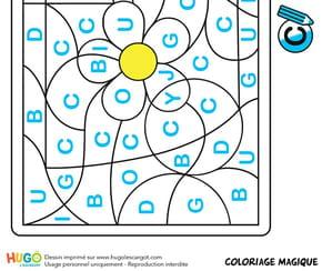 Coloriage magique CP, un mug