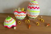 Œufs de Pâques en papier mâché [VIDEO]