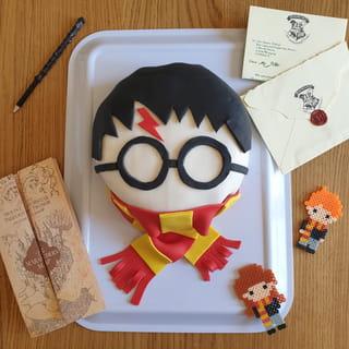 Votre gâteau Harry Potter est terminé!