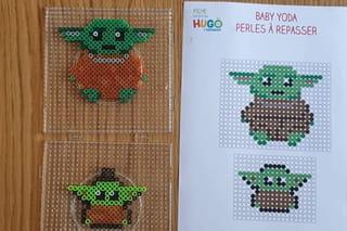Étape 1: faire bébé Yoda en perles à repasser