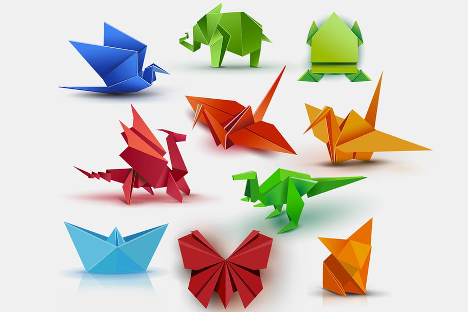 Origami Facile Idees Et Modeles De Pliage En Papier