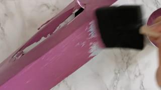 Étape 2: peindre la boîte à mouchoirs