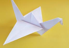 Origami grue facile [VIDEO]