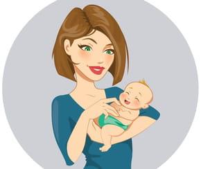 Les bras d'une maman