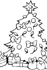 Coloriage En Ligne Gratuit Sapin De Noel.Coloriage Sapin De Noel Et Ses Cadeaux En Ligne Gratuit A