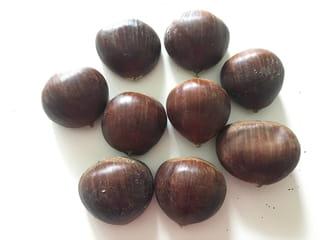 Etape 1: munissez-vous de châtaignes ou de marrons