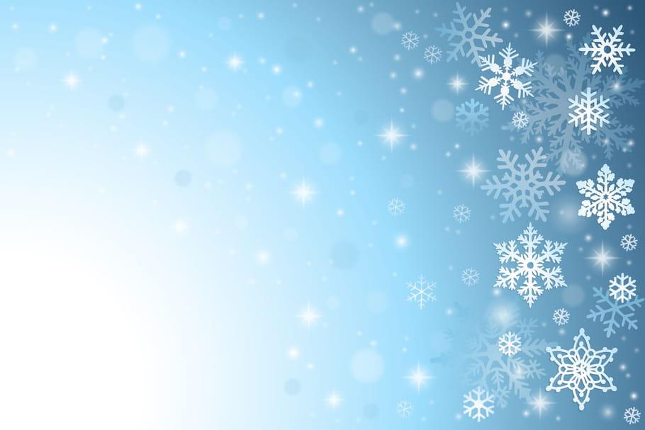 Comptine Les flocons de neige