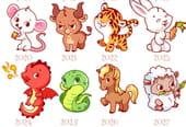 Quels sont les 12signes du zodiaque chinois?