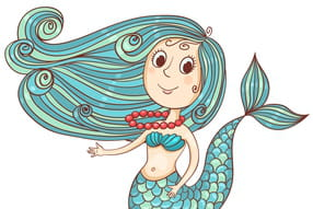 Coloriage Queue De Sirene.Coloriage Sirene Sur Hugolescargot Com