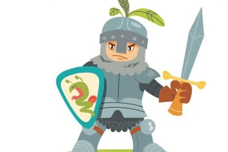 Dessiner un chevalier - Dessins moyen age ...