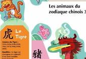 Les signes du zodiaque chinois à découper