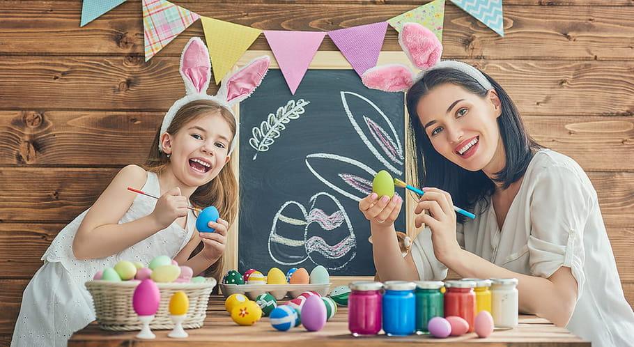 Bricolages de Pâques: œufs, lapins et activités DIY