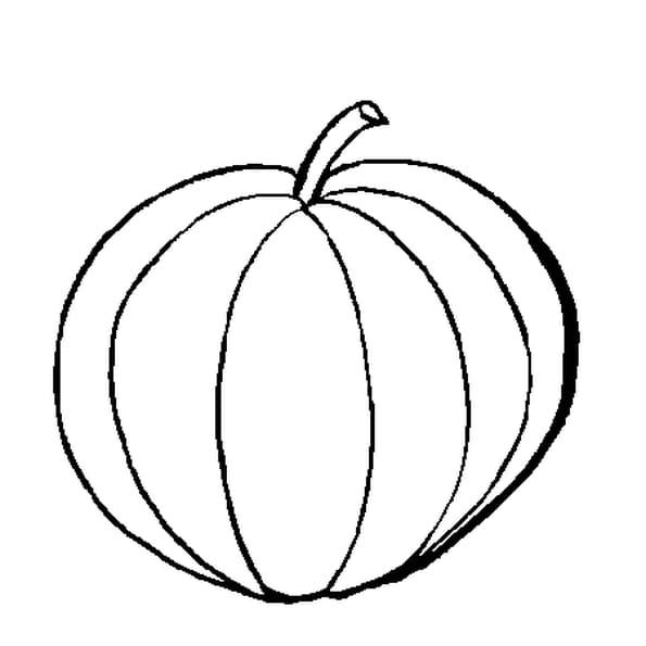 Coloriage Melon en Ligne Gratuit à imprimer